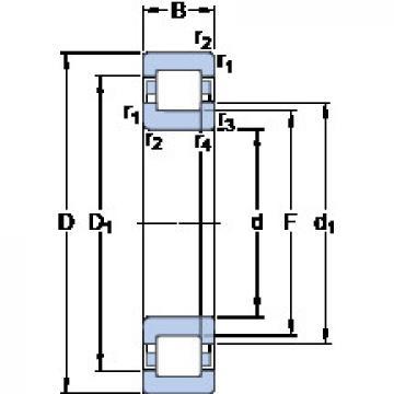 підшипник NUP 211 ECM SKF