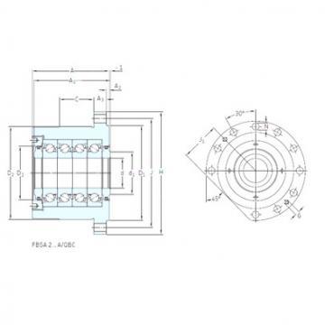 підшипник BSQU 240/1 TDT SNFA